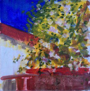 Painting On Cardboard Small 2jpg