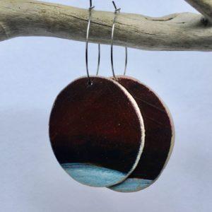 Earrings Brown Sheena Mathieson Woman Made Gallery
