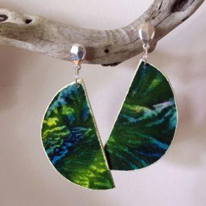 Earrings Green Sheena Mathieson Woman Made Gallery
