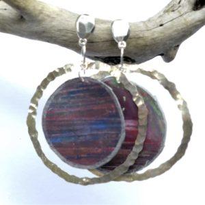Earrings Purples Sheena Mathieson Woman Made Gallery