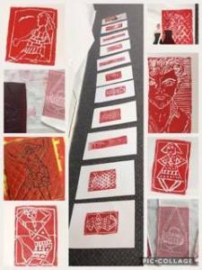 Relief prints