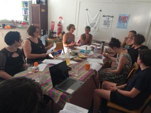 Our volunteer committee at work